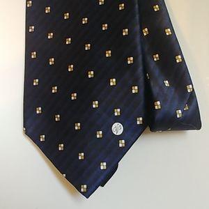 Versace V2 Classic Silk Necktie
